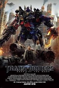 Transformers dark of the moon Netflix